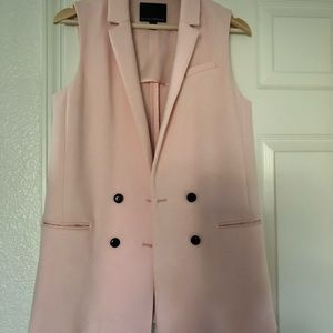 Banana Republic light pink vest